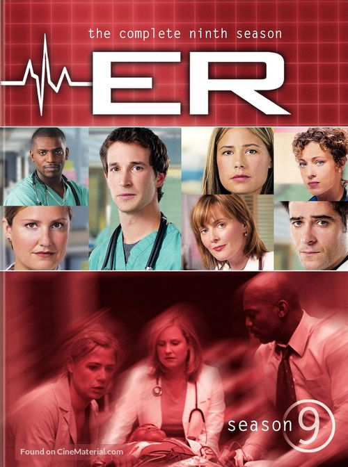 """ER"" - DVD movie cover"