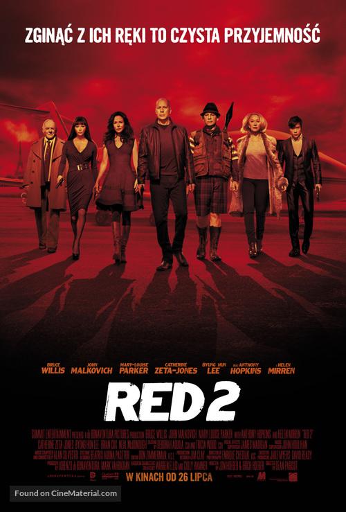 RED 2 - Polish Movie Poster