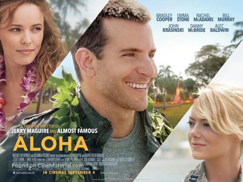 Aloha - British Movie Poster