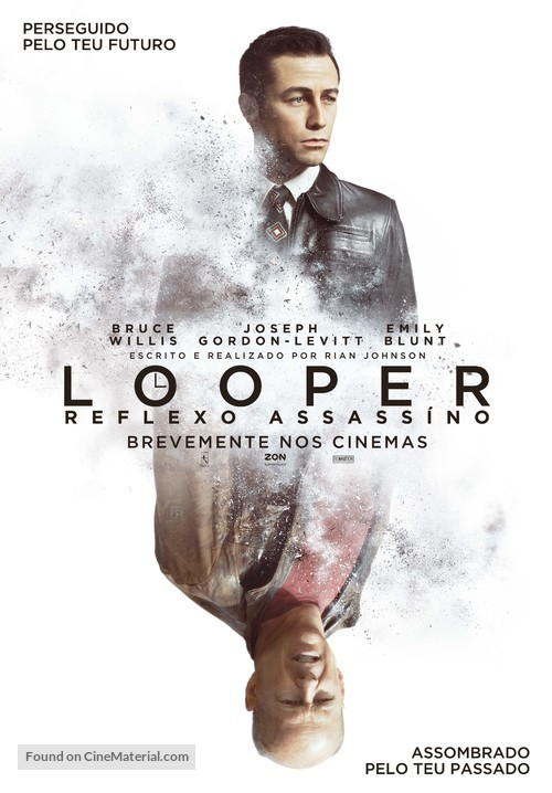 Looper - Portuguese Movie Poster
