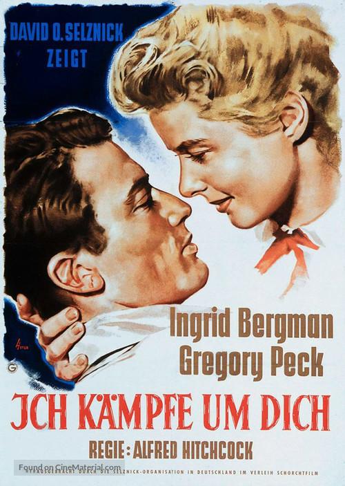 Spellbound - German Movie Poster