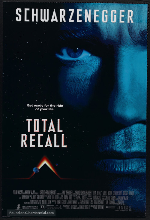 Total Recall - Movie Poster