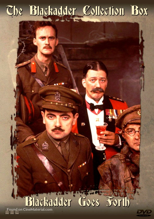 """Blackadder Goes Forth"" - Movie Cover"