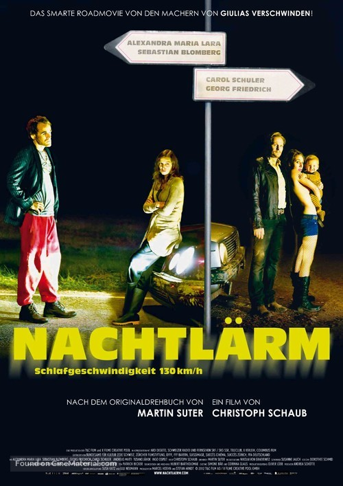 Nachtlärm - German Movie Poster