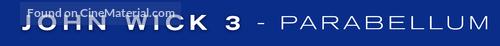 John Wick: Chapter 3 - Parabellum - Logo