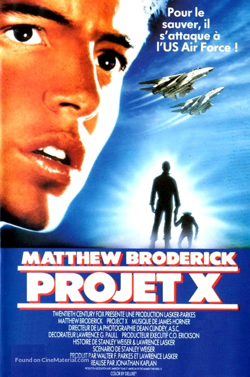 Project X - French VHS cover