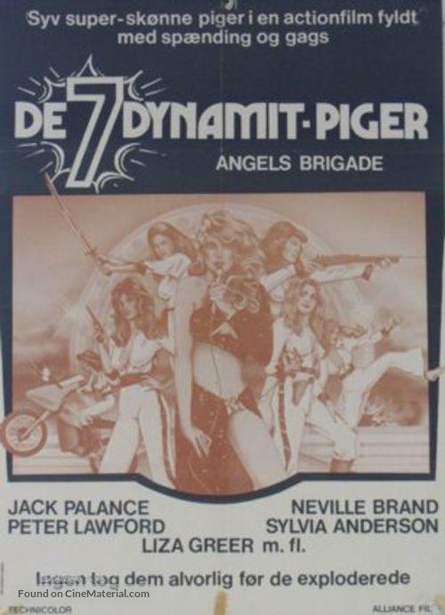 Angels' Brigade - Danish Movie Poster