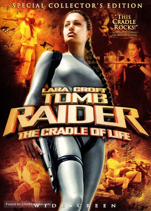 Lara Croft Tomb Raider: The Cradle of Life dvd cover