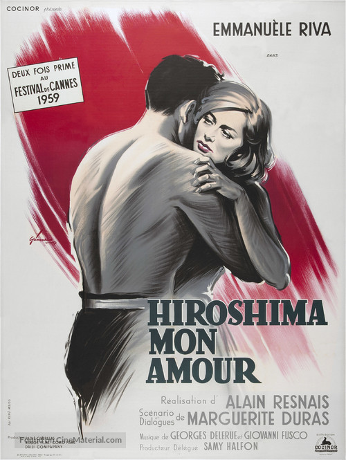 Hiroshima mon amour - French Movie Poster