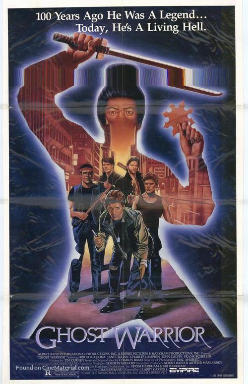 Ghost Warrior - Movie Poster