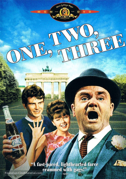 One, Two, Three - DVD movie cover