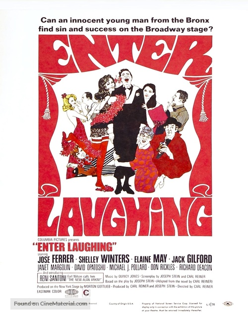 Enter Laughing - Movie Poster