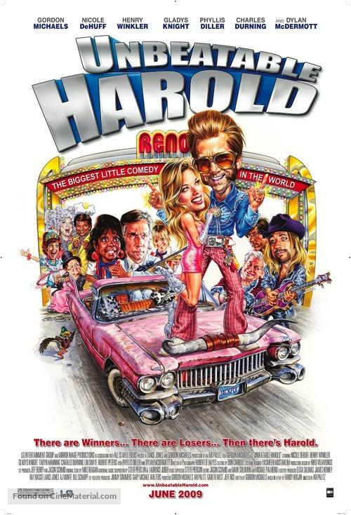Unbeatable Harold - Movie Poster
