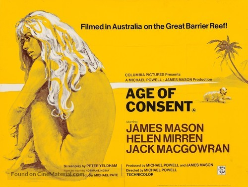 Age of Consent - British Movie Poster