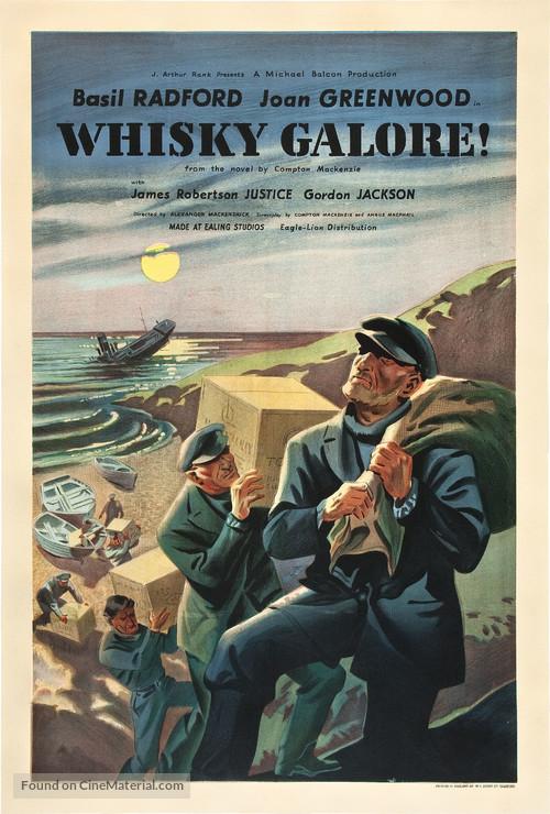 Whisky Galore! - British Movie Poster