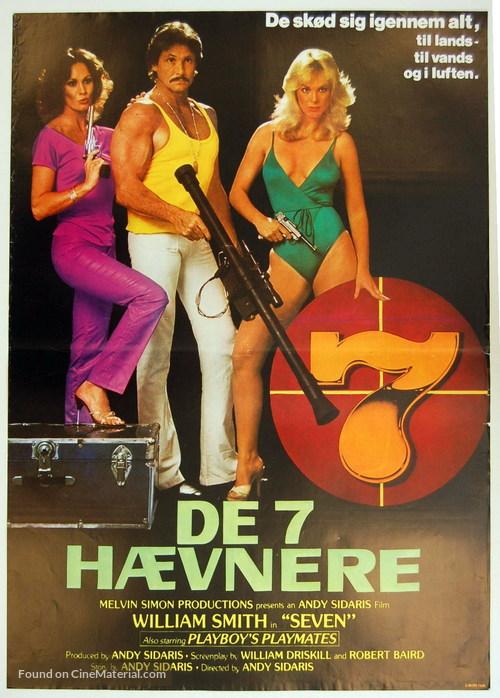 Seven - Danish Movie Poster