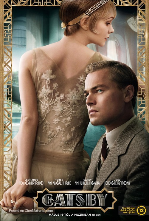 The Great Gatsby - Hungarian Movie Poster