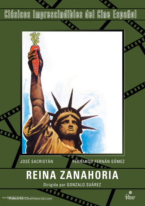 Reina Zanahoria 1977 Spanish Movie Cover Look up the spanish to english translation of zanahorias in the pons online dictionary. cinematerial