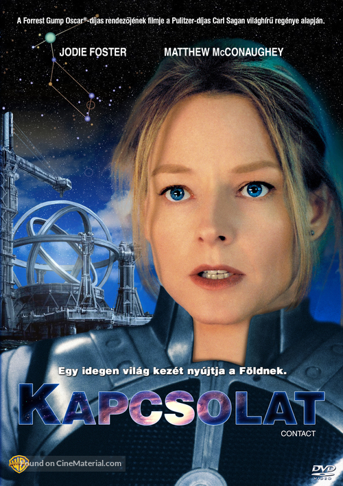 Contact - Hungarian DVD movie cover