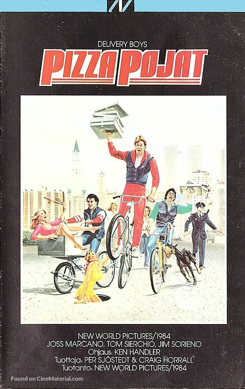 Delivery Boys - Finnish VHS movie cover
