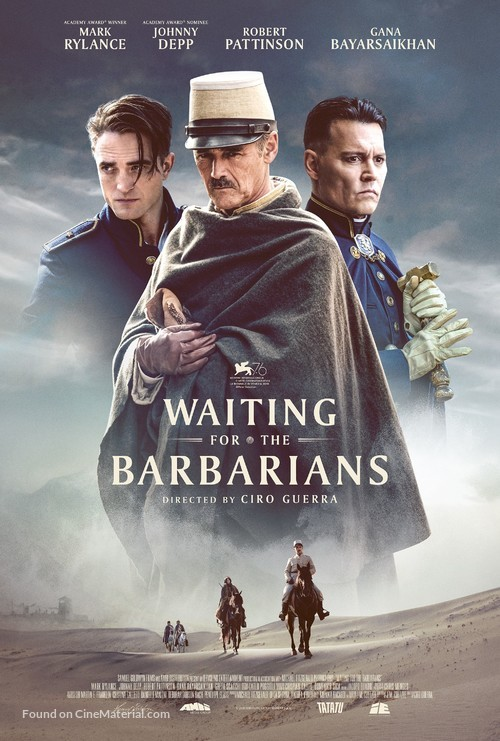 Waiting for the Barbarians - Movie Poster