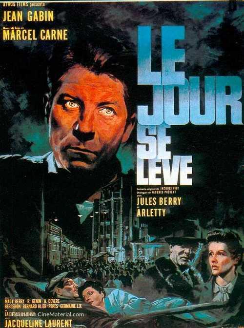 Le jour se lève - French Movie Poster