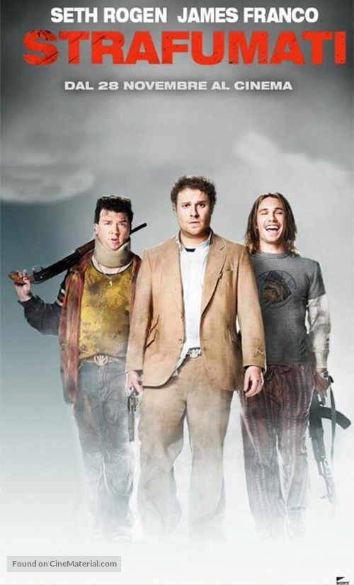 Pineapple Express - Italian Movie Poster