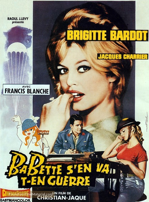 Babette s'en va-t-en guerre - French Movie Poster