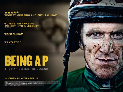 Being AP - British Movie Poster