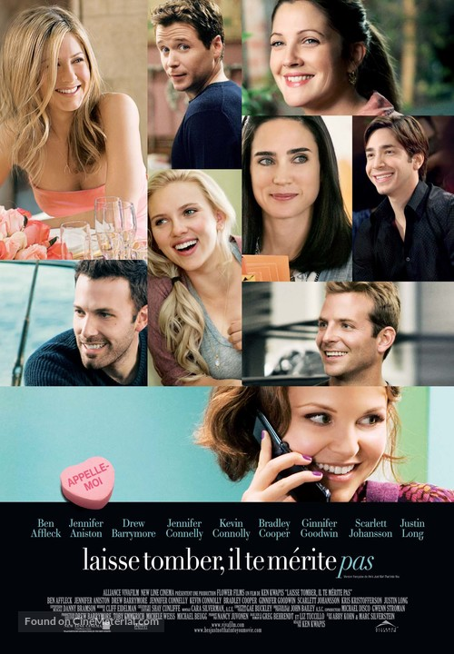 He's Just Not That Into You - Canadian Movie Poster
