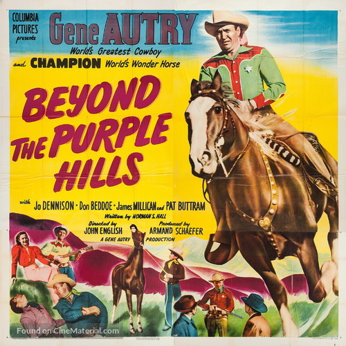 Beyond the Purple Hills - Movie Poster