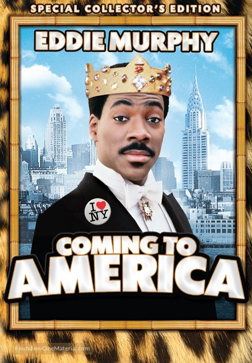 Coming To America - DVD movie cover