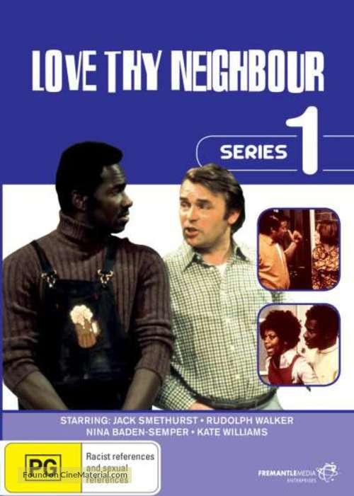 """Love Thy Neighbour"" - Australian DVD movie cover"