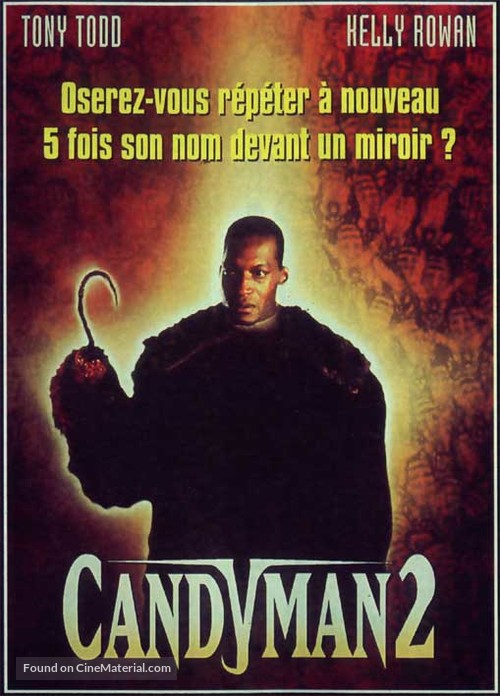 Candyman: Farewell to the Flesh - French DVD movie cover
