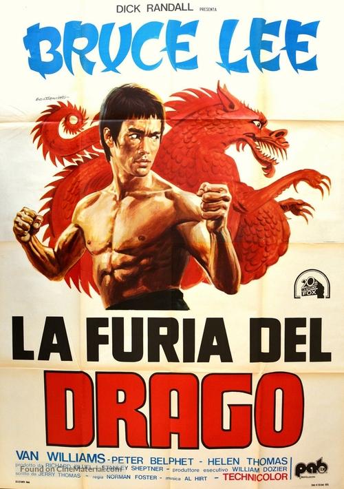 The Green Hornet (1974) Italian movie poster