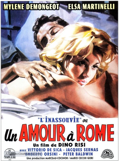 Amore a Roma, Un - French Movie Poster