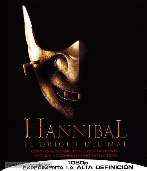Hannibal Rising - Spanish Blu-Ray movie cover