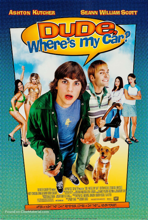 Dude, Where's My Car? - Movie Poster