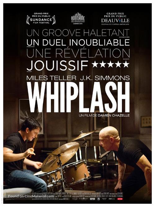 Whiplash - French Movie Poster