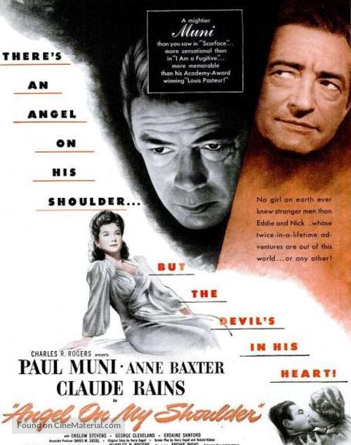 Angel on My Shoulder - Movie Poster
