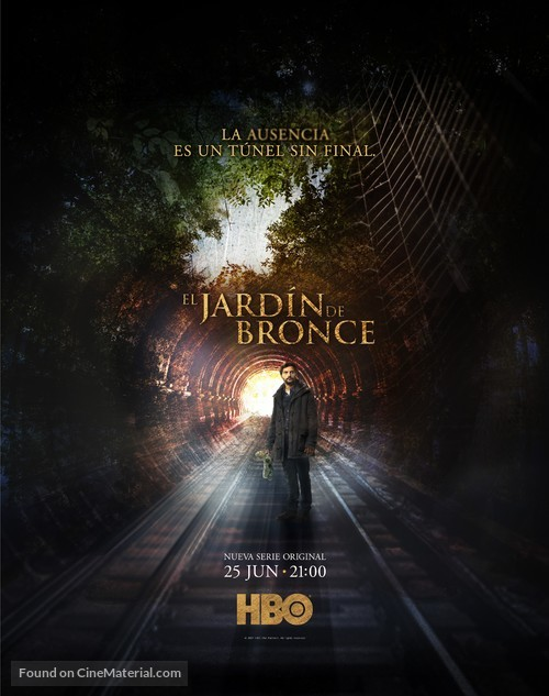 """""""El Jardín de Bronce"""" - Argentinian Movie Poster"""