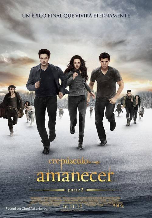 The Twilight Saga: Breaking Dawn - Part 2 - Colombian Movie Poster