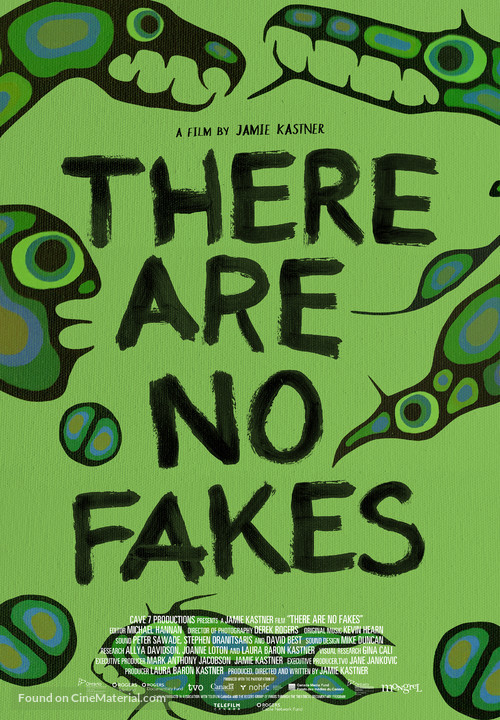 There Are No Fakes - Canadian Movie Poster