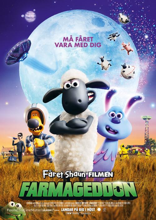 A Shaun the Sheep Movie: Farmageddon - Swedish Movie Poster