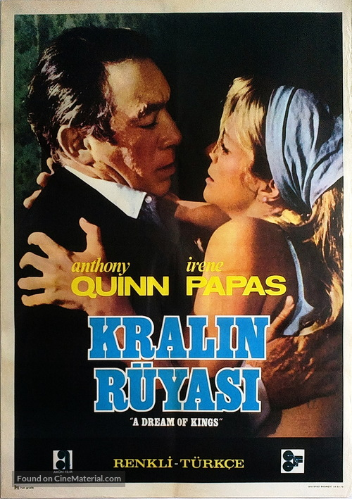 A Dream of Kings - Turkish Movie Poster