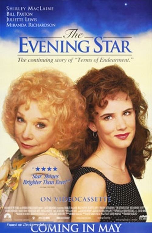 The Evening Star - Video release poster