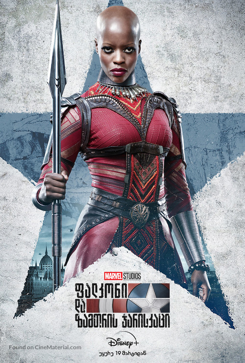 """""""The Falcon and the Winter Soldier"""" - Georgian Movie Poster"""