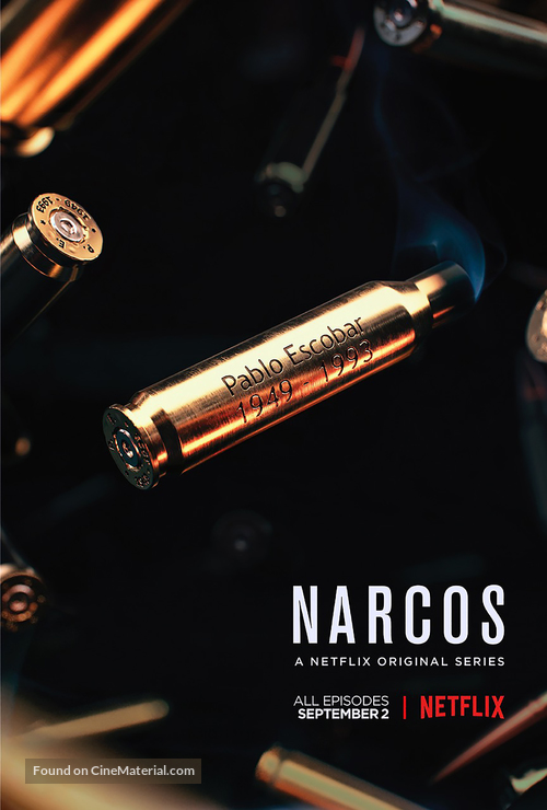 """""""Narcos"""" - Movie Poster"""