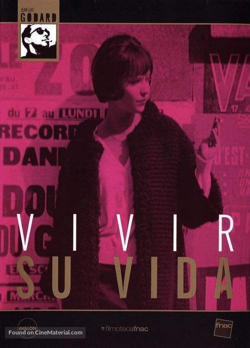 Vivre sa vie: Film en douze tableaux - Spanish Movie Cover