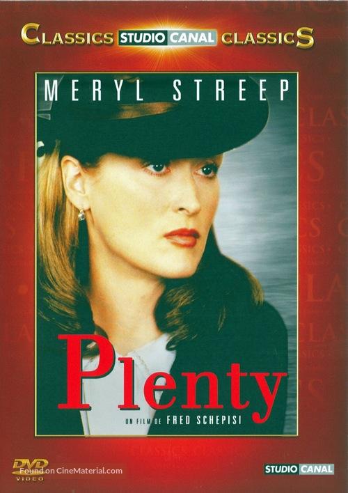 Plenty - French Movie Cover